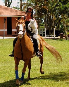 Jazzy and Cheryl on Katrina